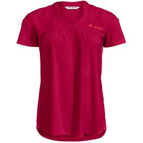 VAUDE Turifo Hybrid Shirt Women, rouge